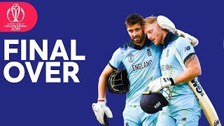 Incredible Final Over of England's Innings!   Stokes Forces Super Over   ICC Cricket World Cup 2019
