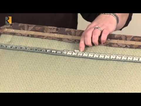 Flexible Metal Tack Strip  YouTube
