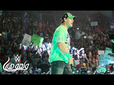 جون سينا يعود لعرض راو - WWE Wal3ooha, 10 January, 2019