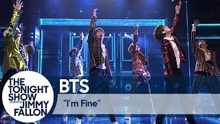 BTS Performs ″I'm Fine″ on The Tonight Show