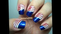 4th of July Nail Designs Ideas - YouTube