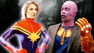 Watch IF MARVEL CHARACTERS WERE REAL Video