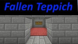 Tutorial / Fallen Tepich , zum nach bauen/ Eleganter Art ^^ / Minecraft / Ps4 / Deutsch