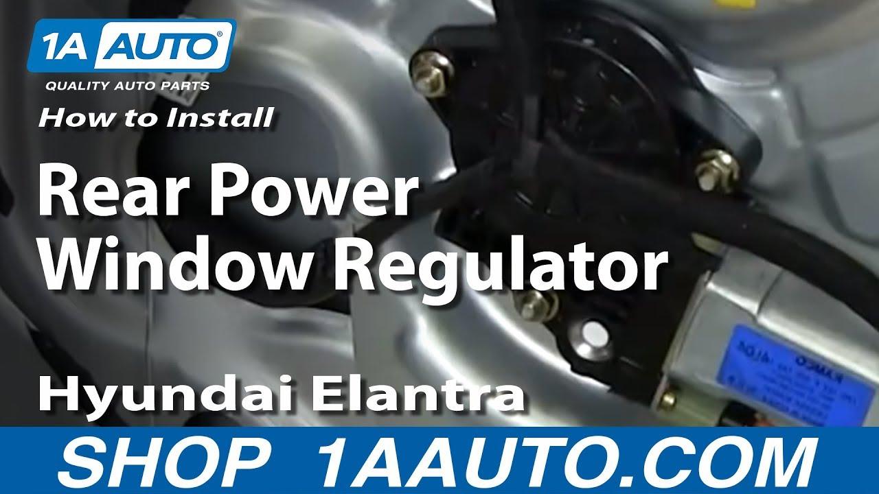 hight resolution of how to install replace rear power window regulator 2001 06 2001 pontiac grand am radio wiring