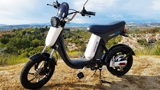 Gigabyke Review: Electric Bicycle ″Scooter″ eBike!