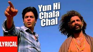 Yun Hi Chala Chal Lyrical   Swades   A.R. Rahman   Shahrukh Khan