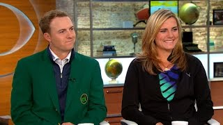 Jordan Spieth and Lexi Thompson on golf and Drive, Chip & Putt
