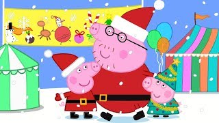 Peppa Pig Official Channel 🎈 Christmas Fete Fun with Peppa Pig 🎈