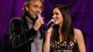 Katharine McPhee & Andrea Bocelli - Can't Help Falling In Love