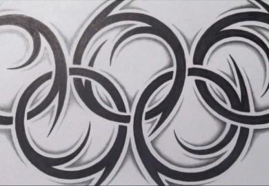 How To Draw Superman Logo Tribal Tattoo Design Style