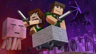 ♪ ″Through The Night″ - A Minecraft Original Music / Song ♪