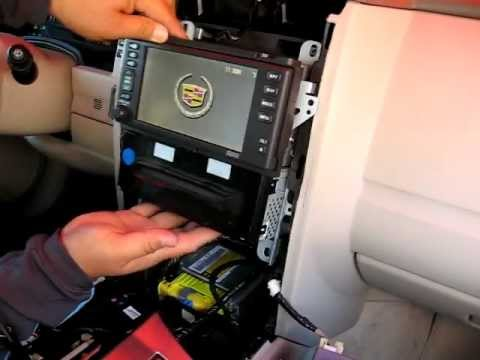 2005 Cadillac Deville Radio Wiring Diagram How To Remove Radio Cd Changer Navigation From 2004 To