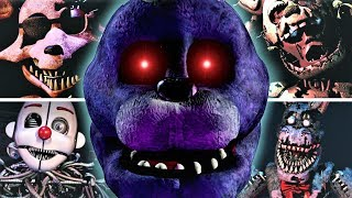 FNAF's Scariest Animatronics and here's why... (Top Scary Five Nights at Freddy's)