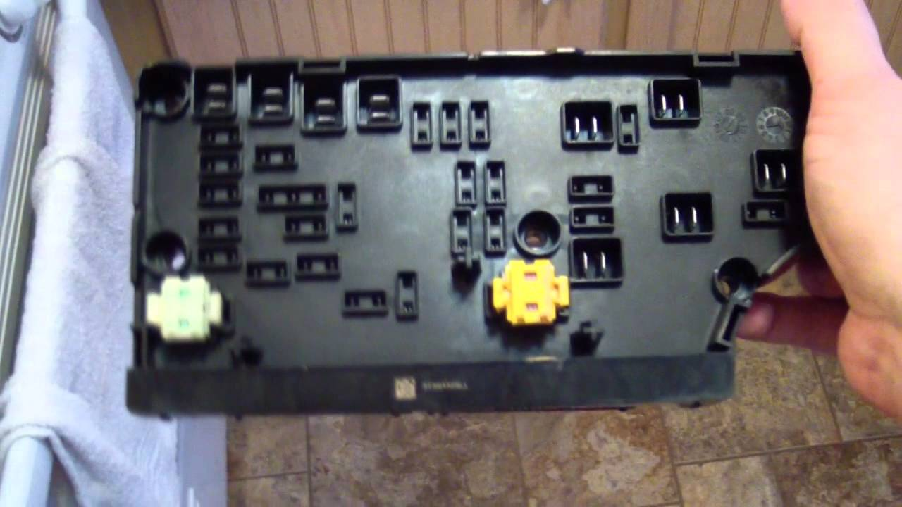 2008 Jeep Wrangler Wiring Schematic 2007 Dodge Caliber Tipm Inspection Look At The Guts