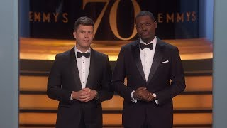 Watch 70th Emmy Awards: Opening Monologue Video