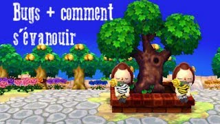 Animal Crossing New Leaf - Bugs + Comment sévanouir