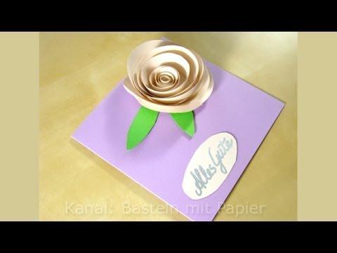 Geburtstagskarten basteln  Basteln Ideen  DIY Geschenk