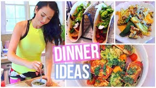 3 SIMPLE & HEALTHY DINNER IDEAS!
