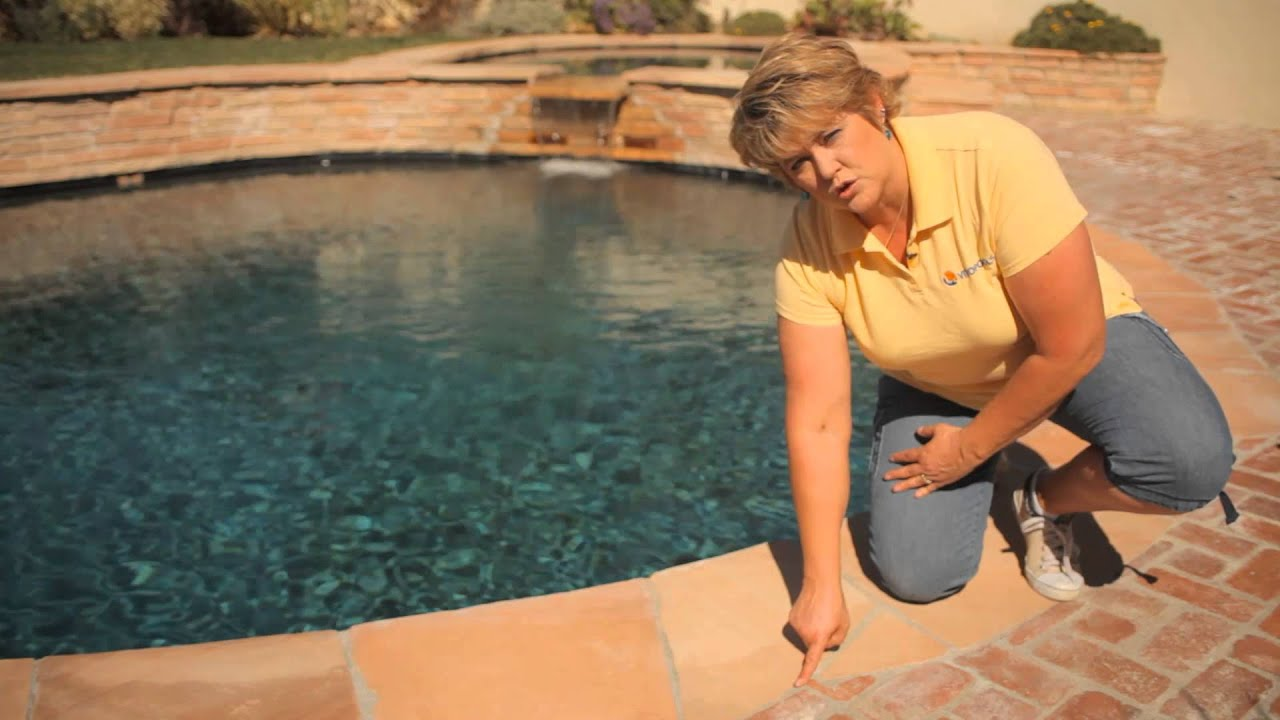 How to Replace Grout Around Brick Coping on Swimming Pools