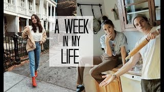 WEEK IN MY LIFE: 6 | BTS Filming + We can cook!