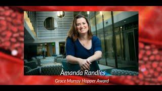 Grace Murray Hopper Award 2017: Amanda Randles, Duke University