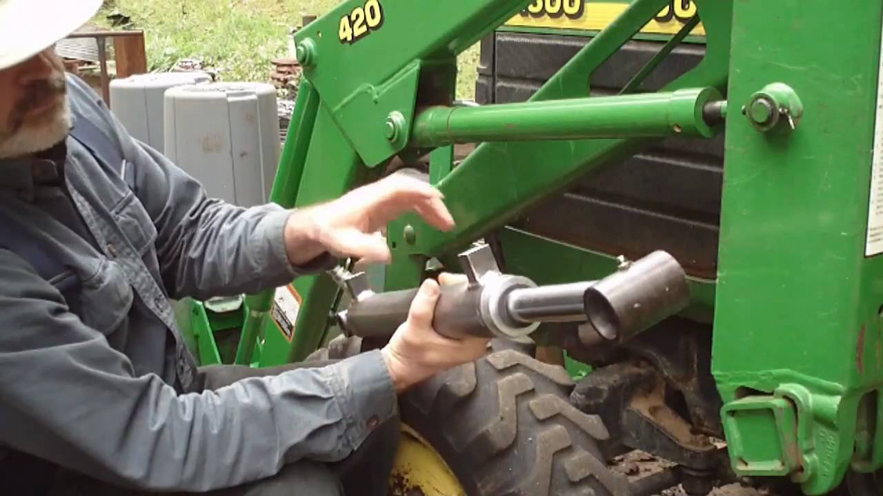 1020 John Deere Wiring Harness Diagram Upgrading John Deere Fel Loader Cylinders Part 1 Youtube