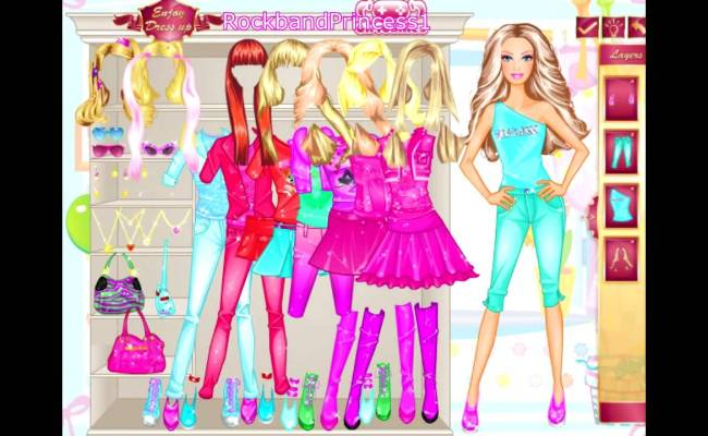 Barbie Online Games Dress Up Game Youtube
