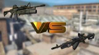 Operation 7 AK-74 VS CAR M4 Loquendo
