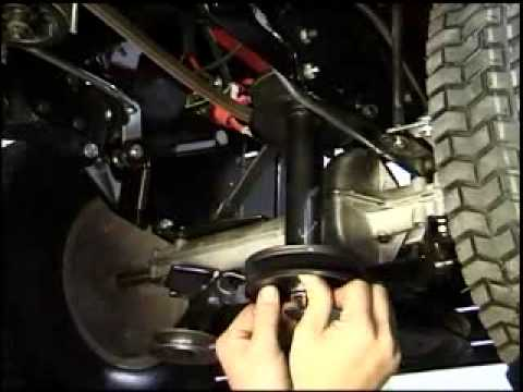 Bolens Lawn Tractor Wiring Diagram Mtd Lawnflite 400 Series 36 Quot Drive Belt Removal Mp4 Youtube