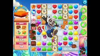 Cookie Jam Level 5387(with mandatory boosters)