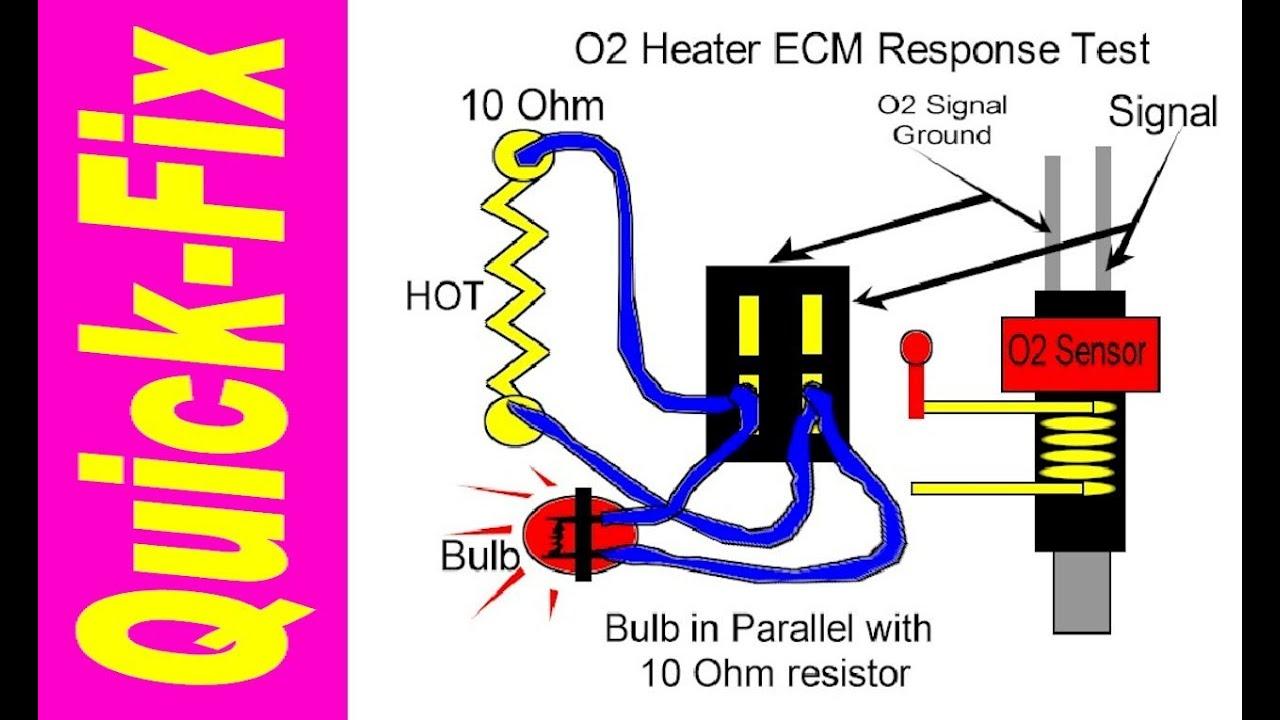 2008 Explorer Wiring Diagram Heat O2 Sensor Heater Quick Fix Youtube