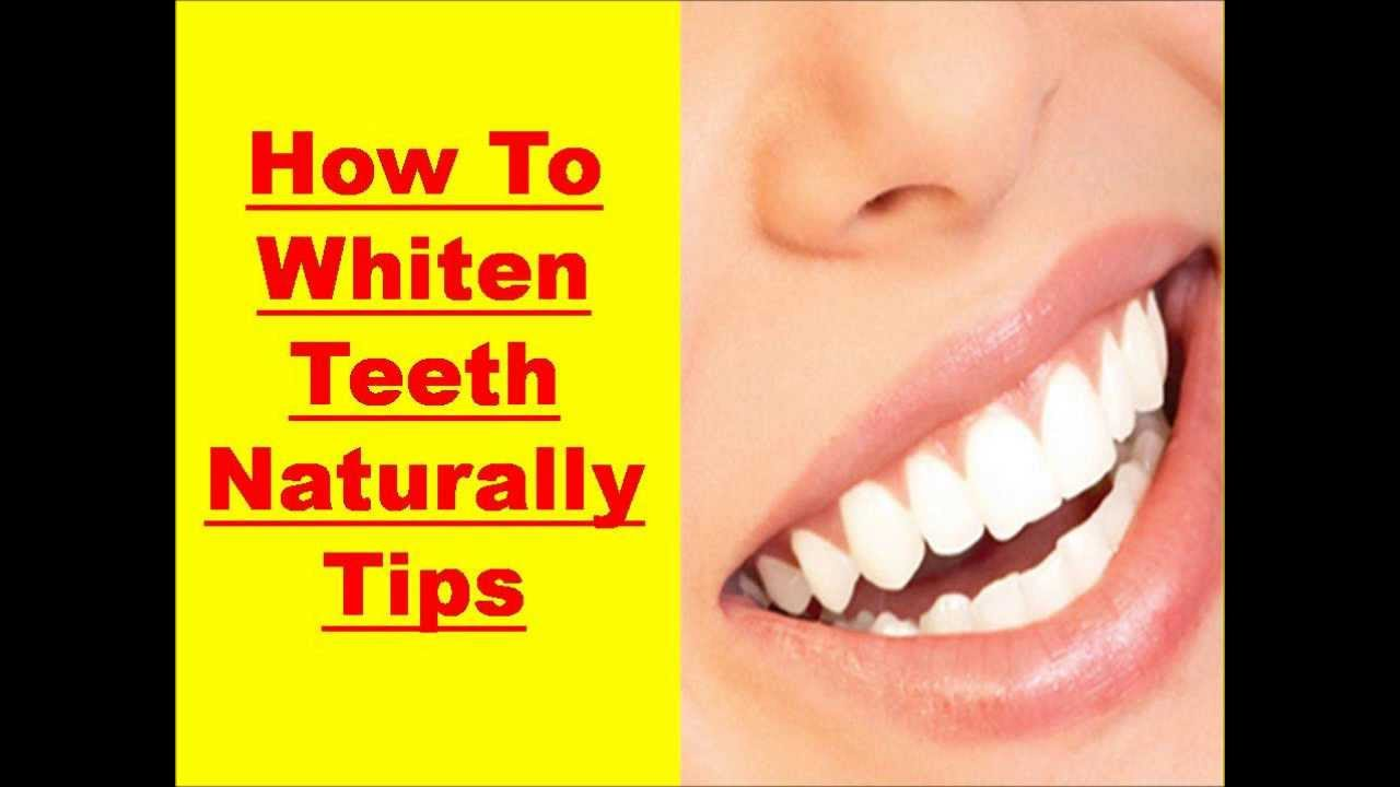 Naturally Whiten Teeth Fast