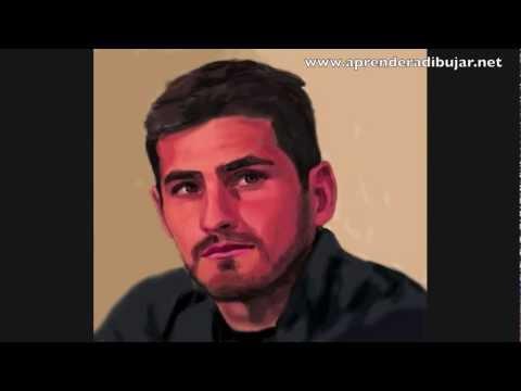 Iker Casillas Para Colorear