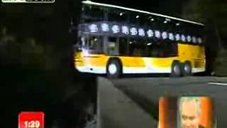 разворот автобуса -немецкий ″АС″ водитель!!! )))))