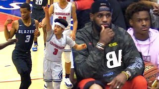 Sierra Canyon VS Crossroads! Yuuki GOES AT #1 Team But Scottie Pippen Jr & Cassius Stanley TOO MUCH!