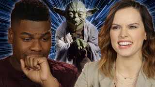 Star Wars Cast Takes ″Which Star Wars Character Are You?″ Quiz