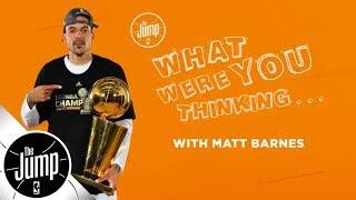Matt Barnes on that time Kobe Bryant even didn't flinch   The Jump   ESPN