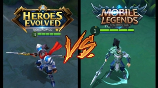 HEROES EVOLVED VS MOBILE LEGENDS | MUST WATCH THIS !!!