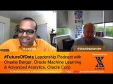 #FutureOfData with @CharlieDataMine, @Oracle discussing running analytics in an enterprise
