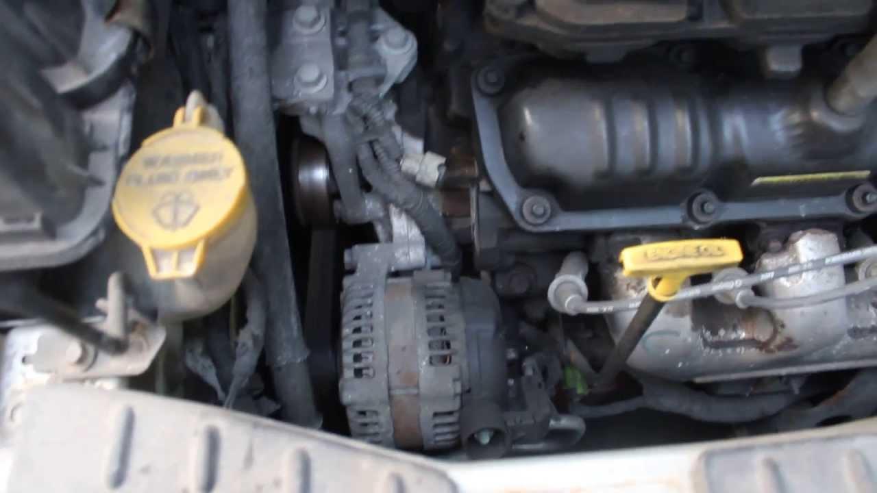 Sebring Ac Fuse Diagram Dodge Caravan 2002 3 3l V6 Engine Noise Youtube