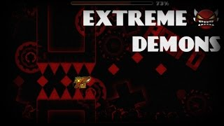 [Part 2] Me Trying to Beat Insane/Extreme Demons ~ Geometry Dash