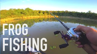 Fishing Gary Yamamotos Ranch? - Texas Frog Fishing