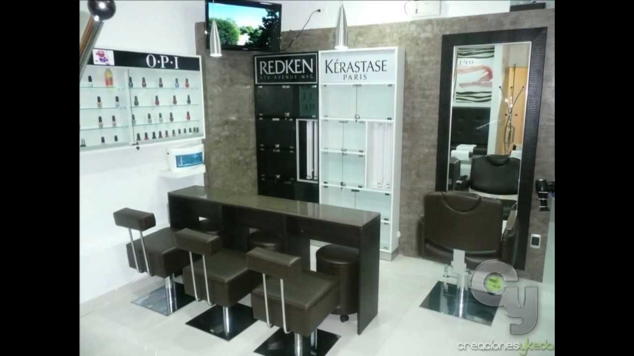 Muebles para Salones de Belleza Peluqueras y Spa  Lima