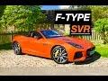 2017 Jaguar F-Type SVR Convertible Review - Inside Lane