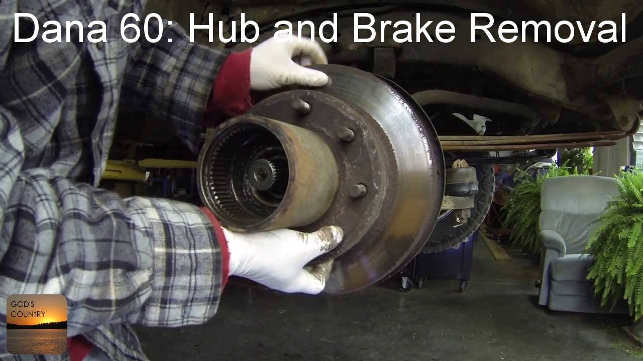 87 Dodge W150 Wiring Diagram Dana 60 Axle Hub And Brake Disc Removal How To Youtube