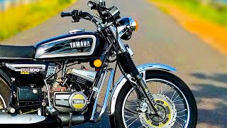 Yamaha Rx 100 Restoration (1996 Model) Modified...