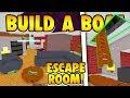 Build a Boat ESCAPE ROOM!!!