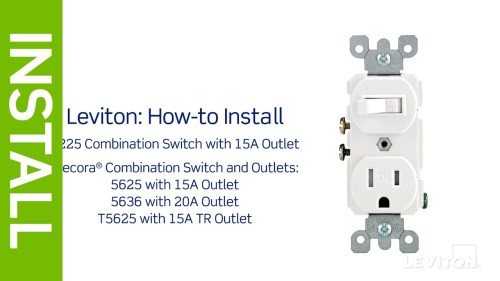 small resolution of wiring diagram for switch to control a wall receptacle doit