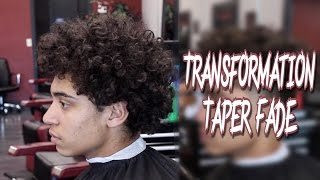 BARBER TUTORIAL: TRANSFORMATION | TAPER FADE | RONNIE BANK HAIRCUT