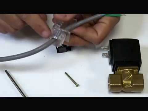 asco solenoid valve diagram photosynthesis step by how to wire a din plug for coil - youtube